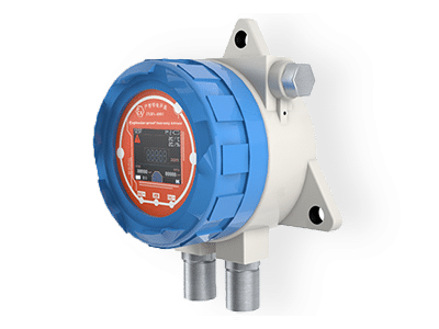twin channel explosion proof gas detector