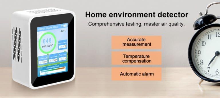 home air quality monitor